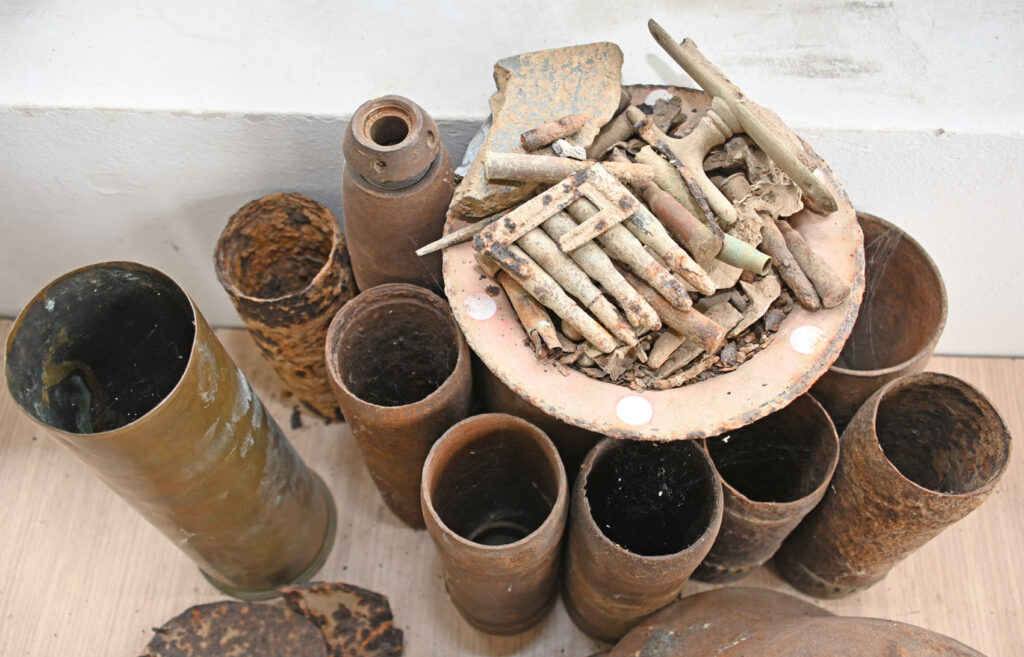 Предмети ископани у манастиру Целије Лазаревачке
